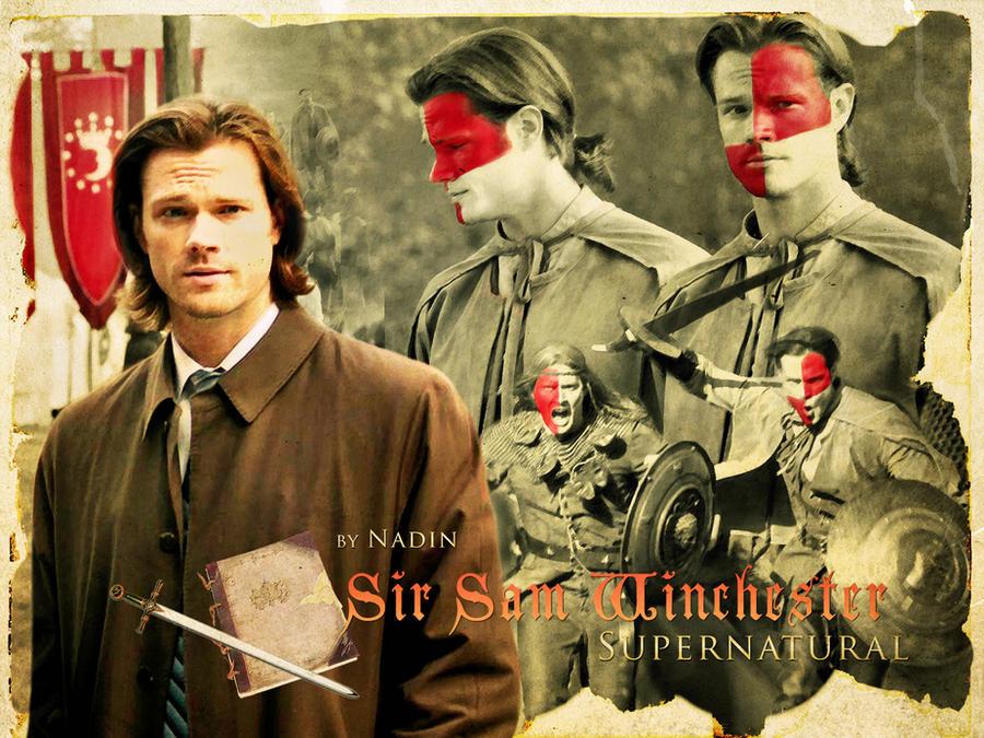 Sir Sam Winchester by Nadin7Angel