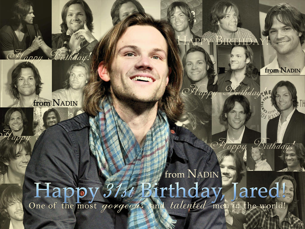 Happy Birthday, Jared! by Nadin7Angel