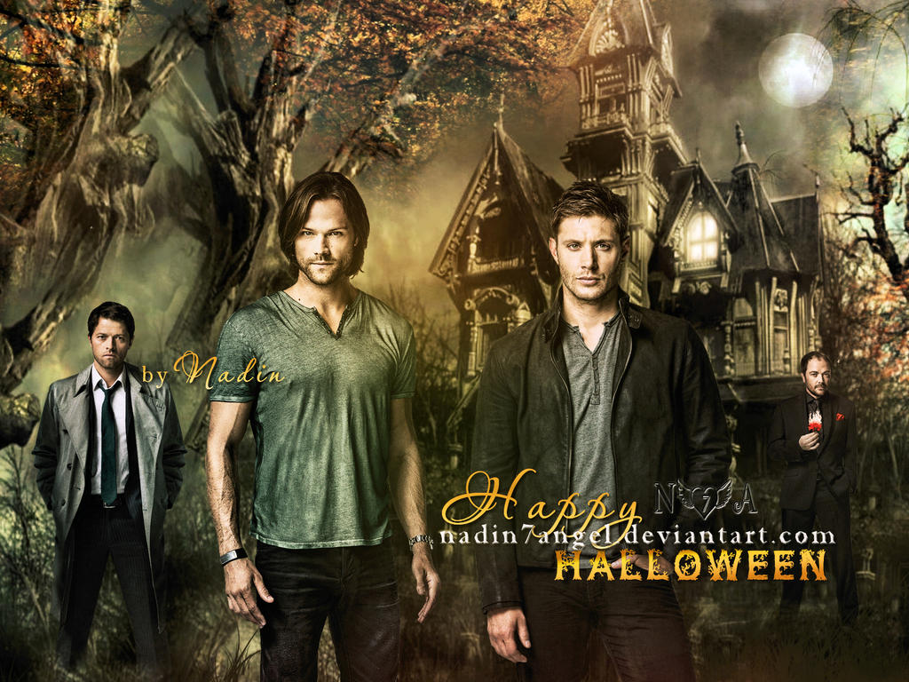 Happy Halloween SPN by Nadin7Angel