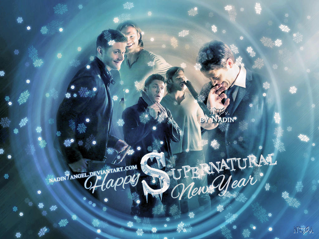 Happy Supernatural New Year! by Nadin7Angel