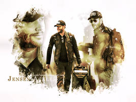 Jensen at Airport by Nadin7Angel
