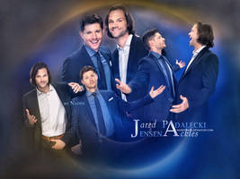 Jared and Jensen at TCA 2014 by Nadin7Angel