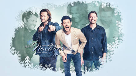 Happy Supernatural New 2018 Year! by Nadin7Angel