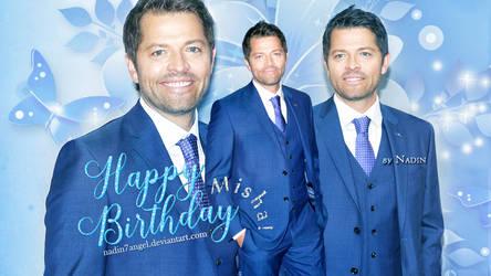 Happy 44th Birthday, Misha! by Nadin7Angel