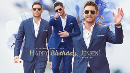 Happy 41st Birthday, Jensen! by Nadin7Angel