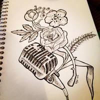 Pen/Tattoo design practice