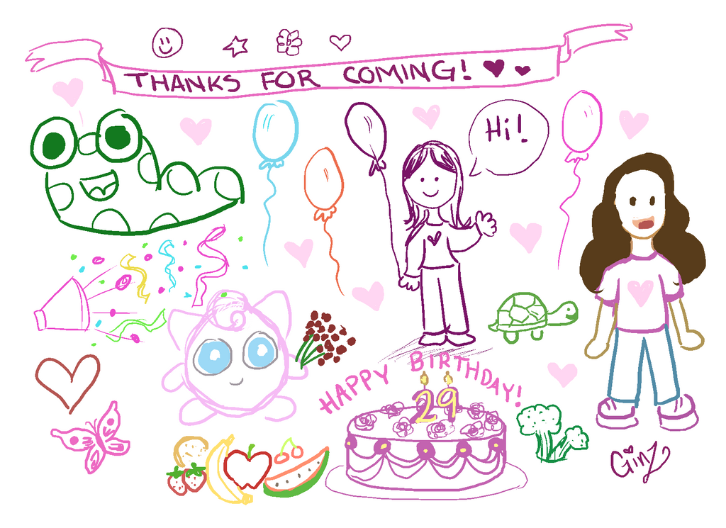 Birthday Doodle By Imogenweasley On DeviantArt