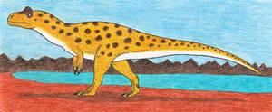 Dinovember Day 1: Allosaurus by Dinosaurzzzz