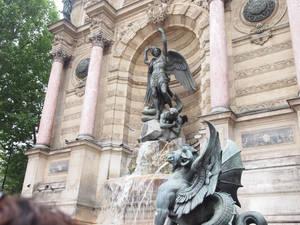 Saint Micheal's fountain
