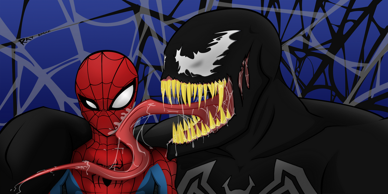 Spider-man VS Venom by RKCrystalSoul
