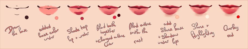 Lip Progress by agent-lapin