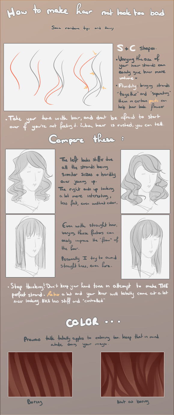 How to make hair not look too bad by agent-lapin