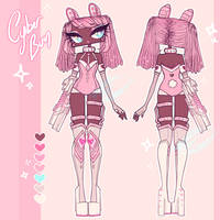 [ADOPTABLE AUCTION - ENDED] CYBER BUN by agent-lapin