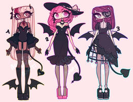 BATWING ADOPTS by agent-lapin