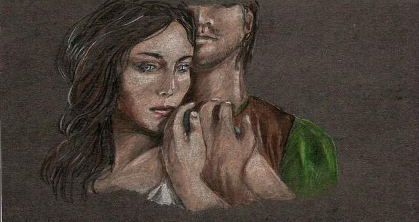 Maerad and Cadvan by Evanoch