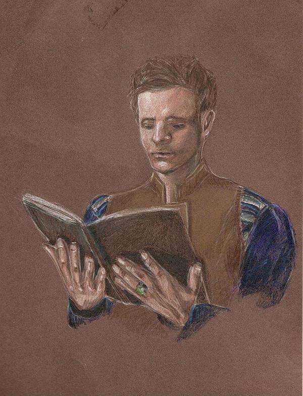 Hamlet by Evanoch