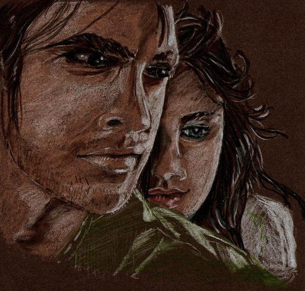 Cadvan and Maerad by Evanoch