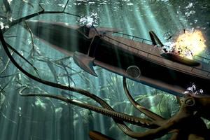 Jules Verne's Nautilus by Darkplagueis