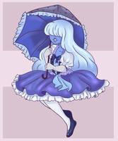 Sapphire (Kawaii Style) by ClassicPumpkin