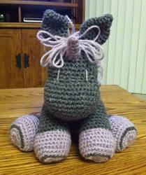 2a316a3a05a Purple And Grey Crochet Unicorn Plush by DevynPugLover on DeviantArt