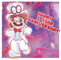 Happy One Year Super Mario Odyssey! by 12thPlace