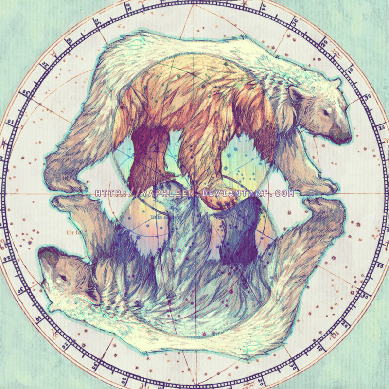 Polar circles by Yaphleen