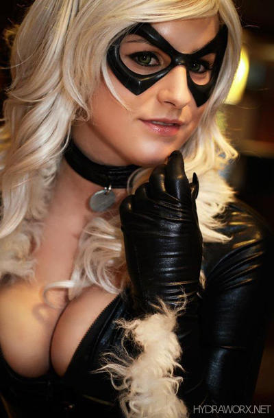 Meow - Black Cat by hydraness