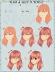 HAIR AND SKIN TUTORIAL