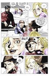 Comic Carl and Sophia (Coloured 3) by StuffAndThiings