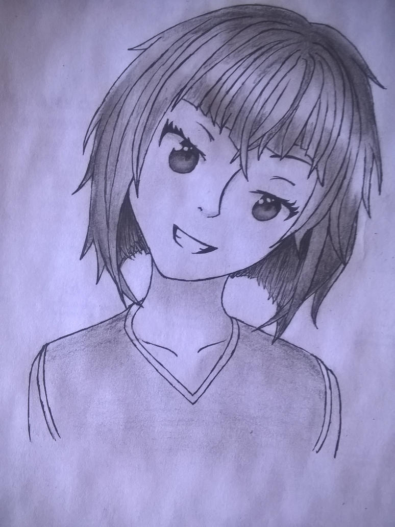 portrait of girl by UIAM