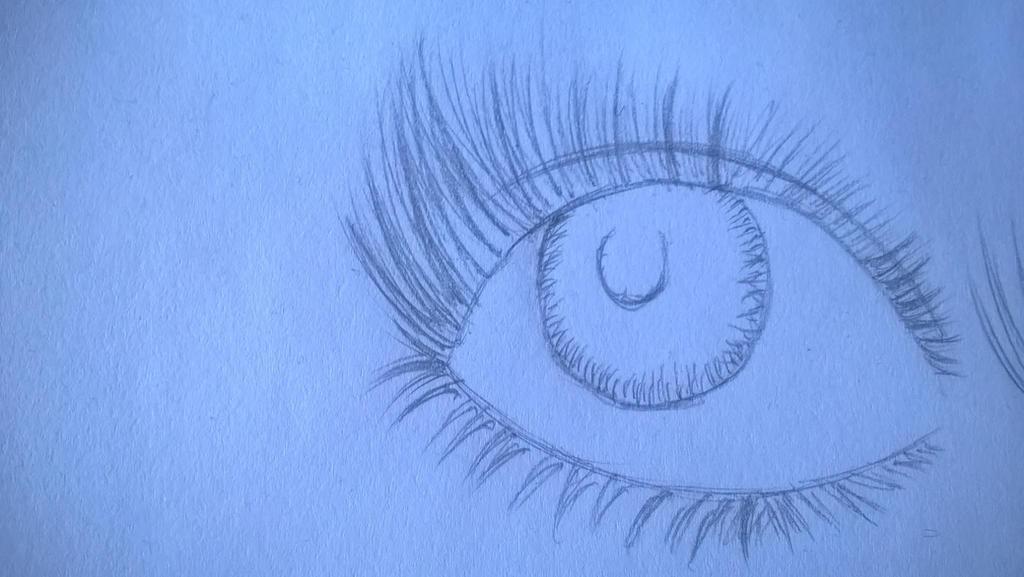 Eye sketch by UIAM