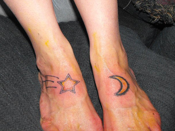 Sun moon star tattoos, tattoo meanings, sun moon star tattoo designs,