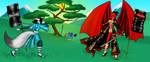 Battlefield Dragoness by TheEvilNae