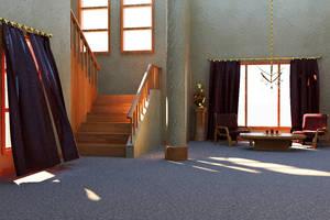 Rustic Elegance Interior by TheEvilNae