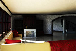 Elegant Sitting Room Interior by TheEvilNae