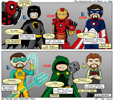 Adventures of Matt -n- Nae #23 - The Lineup by TheEvilNae