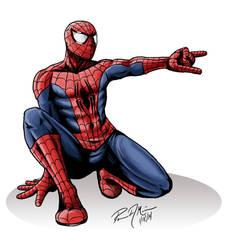 100 Fans Poster - Spider-man