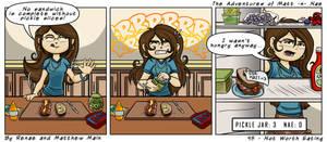 Adventures of Matt -n- Nae #45 - Not Worth Eating by TheEvilNae