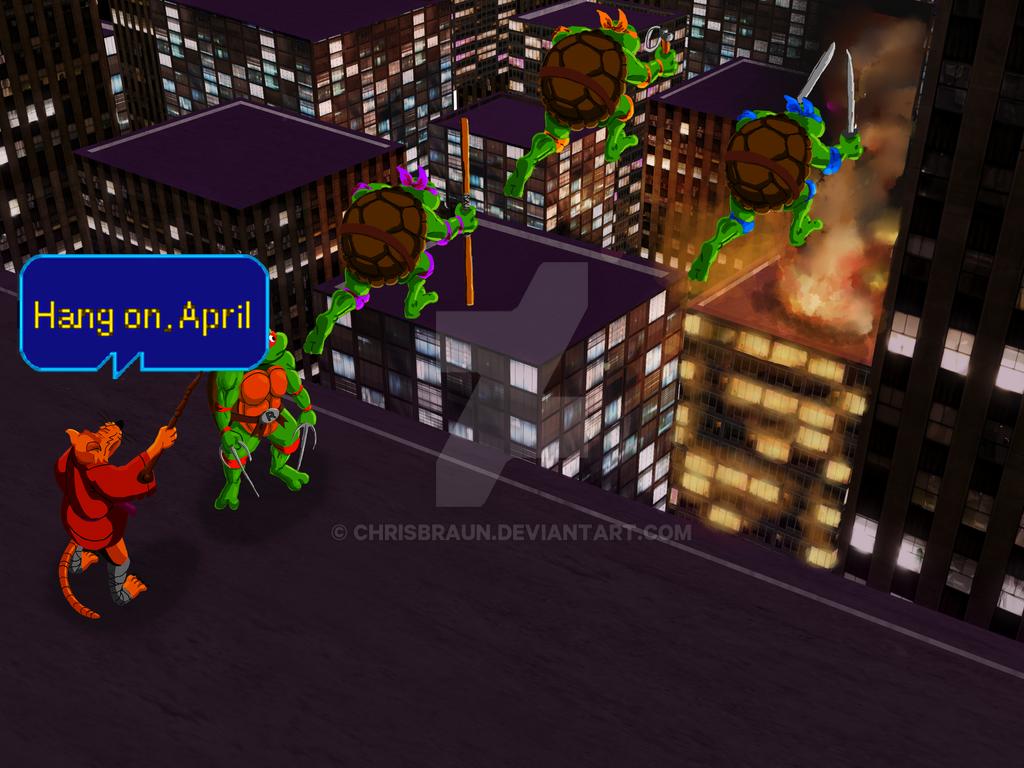 Teenage Mutant Ninja Turtles - The Arcade Game by chrisbraun on