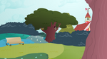 Background: Ponyville Park