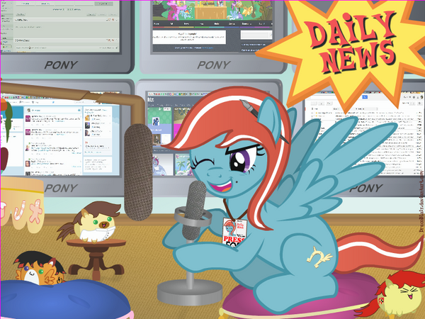 EqD Mascot: Daily News by DracoBlair