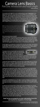 Camera Lens Basics - Part One by DavidVogt
