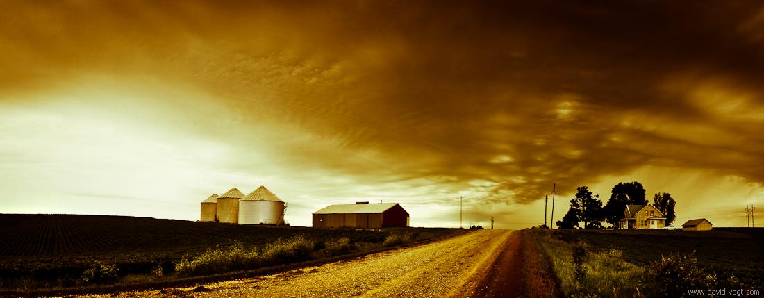 Nebraska View by DavidVogt