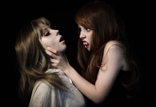 Victim of the vampire