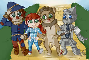 Wizard of Oz by Karacoon