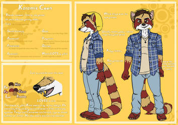 Kara Coon Reference Sheet by Karacoon