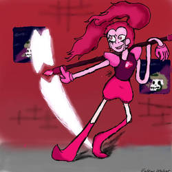 Spinel(Infront of a Beach City Building)