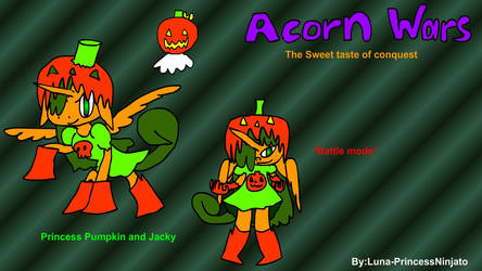 Acron wars Pumpkin and Jacky update 2019 by LunaPrincessNinjato