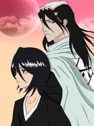 Kuchiki Byakuya and Rukia (Bleach)