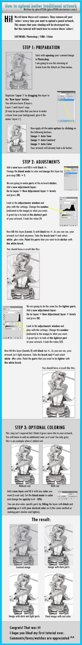 TUTORIAL: Uploading better traditional artwork! by CaptainGhostly